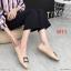 รองเท้าคัทชู ส้นเตี้ย แต่งอะไหล่สวยหรู ทรงสวย หนังนิ่ม ใส่สบาย แมทสวยได้ทุกชุด (K5067) thumbnail 2
