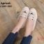 รองเท้าคัทชู ทรง slip on แต่งลายหน้าแมวสวยเก๋น่ารัก ขอบแต่งเชือกถักสไตล์วินเทจ หนังนิ่ม ทรงสวย ใส่สบาย แมทสวยได้ทุกชุด (L-345-380) thumbnail 2
