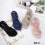 รองเท้าแตะแฟชั่น รัดส้น แบบสวม แต่งอะไหล่คริสตัลสวยหรู หนังนิ่ม ทรงสวย รัดส้นยางยืดนิ่ม ใส่สบาย แมทสวยได้ทุกชุด (B8-6) thumbnail 4