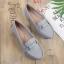 รองเท้าคัทชู ทรง loafer ส้นแบน แต่งอะไหล่สวยเรียบเก๋ หนังนิ่ม พื้นนิ่ม ทรงสวย ใส่สบาย แมทสวยได้ทุกชุด (K5924) thumbnail 1