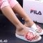 รองเท้าแตะแฟชั่น แบบสวม แต่งลาย chupa chups สไตล์ fila สวยเก๋ หนังนิ่ม พื้นนิ่ม งานสวย ใส่สบาย แมทสวยได้ทุกชุด thumbnail 3