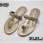 รองเท้าแตะแฟชั่น แบบหนีบ แต่งโซ่และอะไหล่ CC สวยเรียบหรูสไตล์ชาแนล หนังนิ่ม ทรงสวย ใส่สบาย แมทสวยได้ทุกชุด (FT-640) thumbnail 1