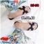 รองเท้าแตะแฟชั่น แบบสวม แต่งหน้า H สไตล์แอร์เมสสวยเรียบหรู หนังนิ่ม ทรงสวย ใส่สบาย แมทสวยได้ทุกชุด (G5-29) thumbnail 6