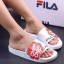 รองเท้าแตะแฟชั่น แบบสวม แต่งลาย chupa chups สไตล์ fila สวยเก๋ หนังนิ่ม พื้นนิ่ม งานสวย ใส่สบาย แมทสวยได้ทุกชุด thumbnail 1