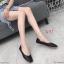 รองเท้าคัทชู ส้นแบน ทรงหัวตัด ดีไซน์สวยเรียบเก๋ หนังนิ่ม ทรงสวย ใส่สบาย แมทสวยได้ทุกชุด (K6001) thumbnail 1