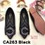 รองเท้าคัทชู ส้นแบน แต่งอะไหล่สวยหรู หนังนิ่ม ทรงสวย ใส่สบาย แมทสวยได้ทุกชุด (CA263) thumbnail 1
