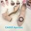 รองเท้าคัทชูุ ส้นเตี้ย รัดส้น แต่งอะไหล่สวยหรู หนังนิ่ม ทรงสวย ส้นตัดสูงประมาณ 2.5 นิ้ว ใส่สบาย แมทสวยได้ทุกชุด (CA037) thumbnail 1