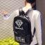 กระเป๋าเป้สะพายหลังสารพัดประโยชน์ สวย ทน เท่ห์ คุณภาพชั้นนำเป็นที่ยอมรับระดับสากล Good quality version of the shoulder bag male Korean version of the backpack men fashion trend thumbnail 3