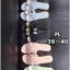 รองเท้าแตะแฟชั่น แบบสวม คาดหน้า H สไตล์แอร์เมส ตัดสีสวยเก๋ หนังนิ่ม ทรงสวย ใส่สบาย แมทสวยได้ทุกชุด (GS-31) thumbnail 3
