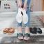 รองเท้าแตะแฟชั่น แบบสวม แต่งลายสวยเก๋สไตล์แอร์เมส หนังนิ่ม ทรงสวย ใส่สบาย แมทสวยได้ทุกชุด thumbnail 3