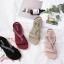 รองเท้าแฟชั่น ส้นเตารีด แบบหนีบ แต่งอะไหล่คริสตัลสวยหรู หนังนิ่ม ทรงสวย สูงประมาณ 3 นิ้ว ใส่สบาย แมทสวยได้ทุกชุด (18-2308) thumbnail 4