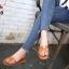 รองเท้าแตะแฟชั่น แบบสวม คาดหน้า H สไตล์แอร์เมส แต่งเข็มขัดข้างสวยเก๋ไฮโซ หนังนิ่ม ทรงสวย ใส่สบาย แมทสวยได้ทุกชุด thumbnail 2