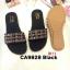 รองเท้าแตะแฟชั่น แบบสวม แต่งอะไหล่สไตล์โบฮีเมี่ยนสวยเก๋ หนังนิ่ม พื้นนิ่ม ทรงสวย ใส่สบาย แมทสวยได้ทุกชุด (CA9828) thumbnail 1