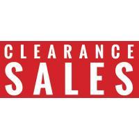 CLEARANCE SALE SALE SALE