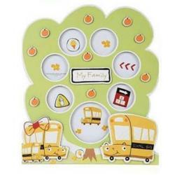 กรอบรูปครอบครัว Size L ลายรถบัสเหลือง