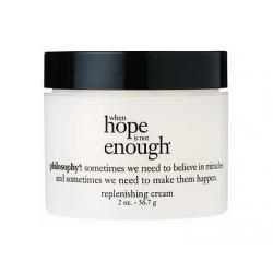 Philosophy When Hope Is Not Enough Replenishing Cream [2oz][No Box] ครีมบำรุงผิวหน้าปราศจากความมัน สำหรับผิวที่แห้งกร้าน ขาดน้ำ ช่วยฟื้นฟูความชุ่มชื้น ผิวแลดูเปล่งปลั่ง สดใส มีน้ำมีนวล เรียบเนียน