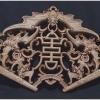 ไม้แกะศิลปะจีน-ค้างคาวมงคล 28cm