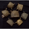 กระดิ่งทองเหลือง งานเก่า ราคารวม 7 ชิ้น