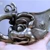 ถ้วยทองเหลืองชุบเงิน ศิลปะจีนแบบโบราณ
