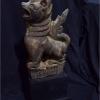 สิงห์ไม้แกะสลัก ศิลปะพม่า สูง 24.5 cm