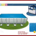 ผ้าคลุมสระ Solar Cover Intex 29026 (กว้าง x ลึก) 549 x 274 ซม (ใช้กับสระน้ำขนาด 18 ฟุต)