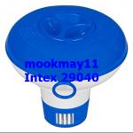 INTEX ทุ่นกระปุกลอยน้ำใส่เม็ดคลอรีน 12.7ซม. รหัสสินค้า 29040 แถมก้อนคลอลีน1