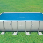 ผ้าคลุมสระ Solar Cover Intex 29026 (กว้าง x ลึก) 549 x 274 ซม (ใช้กับสระน้ำขนาด 18 ฟุต )
