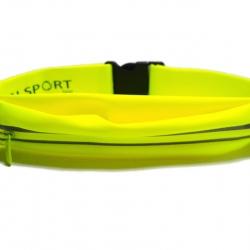 กระเป๋าคาดเอว 1 ซิป เกรด Premium ผ้าสัมผัสเนียนนุ่ม และกันน้ำ