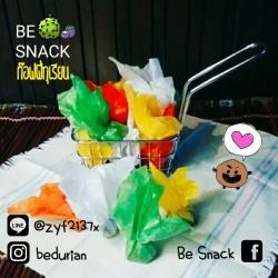 Be Snack Durian Toffy ท๊อฟฟี่ทุเรียนใส่ชะลอม