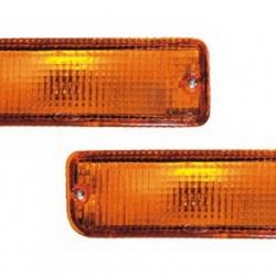 02-235 R/L Amber Front Direction Indicator Lamp, Amber Lens
