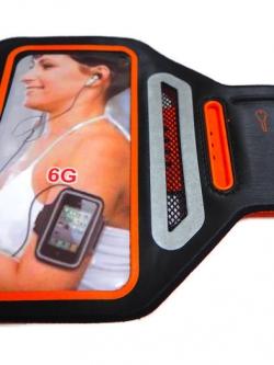 Sport Armband รุ่น Super Slim สีส้ม