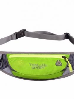 กระเป๋าคาดเอว ยี่ห้อ Tanluhu สีเขียว