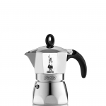 Bialetti หม้อต้ม กาแฟสด รุ่น Dama ขนาด 1 cup (สีเงิน)