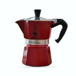 Bialetti หม้อต้ม กาแฟสด รุ่น Moka Express Emotion ขนาด 3 cup (สีแดง)