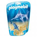 PLAYMOBIL 9068 Swordfish with Baby