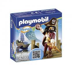 PLAYMOBIL 4798 Super 4 Sharkbeard Figure