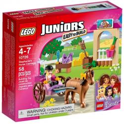 LEGO Juniors 10726 Friends Stephanie of horse-drawn carriage