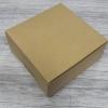 กล่องไม่มีหน้าต่าง (ฝาทึบ) 20.4x20.4.0x9.5 ซม.กล่องเค้ก 1 ปอนด์ กล่องคัพเค้ก กล่องบราวนี่ กล่องชิฟฟ่อน กล่องช้อคโกแล็ต กล่องคุ๊กกี้ กล่องขนมสีคราฟท์น้ำตาลอ่อน