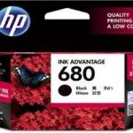 หมึกอิงค์เจ็ท สีดำ HP 680/BK