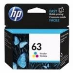 หมึกอิงค์เจ็ท คละสี HP 63/CO