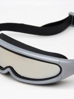 แว่นตาว่ายน้ำเด็ก กรองแสง UV / ป้องกันไอน้ำ ไม่เกิดฝ้าและหมอก ขณะว่ายน้ำ (สีเทา-ดำ)
