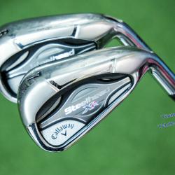 Iron set C/W XR Steelhead 5-9,P N.S.PRO (Flex S)