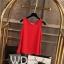 Pre-order เสื้อทำงาน สีแดง เสื้อคอกลมแขนกุด เนื้อผ้าซีฟองอย่างดีพร้อมซับใน ใส่ด้านในสูทก็สวยเก๋ thumbnail 1