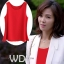 Pre-order เสื้อทำงาน สีแดง เสื้อคอกลมแขนกุด เนื้อผ้าซีฟองอย่างดีพร้อมซับใน ใส่ด้านในสูทก็สวยเก๋ thumbnail 7