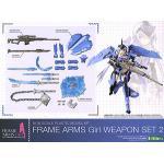 เปิดรับPreorder มีค่ามัดจำ 200 บาท FRAME ARMS Girl weapon set2