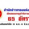 สำนักข่าวกรองแห่งชาติ เปิดรับสมัครสอบ 65 อัตรา วันที่ 15 พ.ค. - 8 มิ.ย. 2561