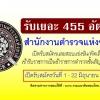 สำนักงานตำรวจแห่งชาติ เปิดรับสมัครสอบจำนวน 455 อัตรา สมัครวันที่ 1 - 22 มิถุนายน 2561