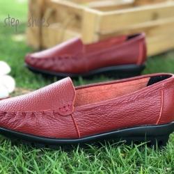 รองเท้าหนังนิ่มรหัส 609 Size 35