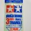 70117 Plastic Beams 3mm Triangle ยาว 40 ซม. *8ชิ้น