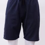 กางเกงกีฬาขาสั้นเอวยืด สีกรม Size M